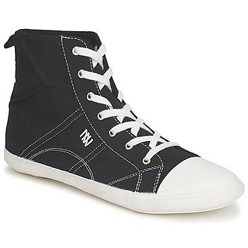 Shoes Women High top trainers Dorotennis MONTANTE LACET INSERT Black