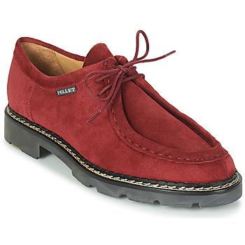 Shoes Men Derby shoes Pellet Macho Red