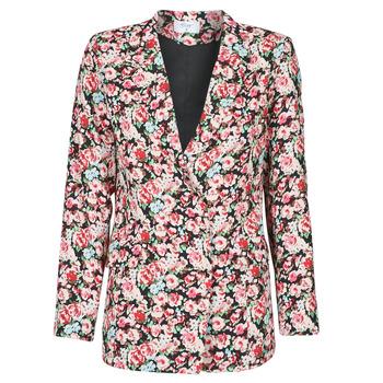 material Women Jackets / Blazers Betty London OBIMBA Black / Pink