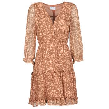 material Women Short Dresses Betty London OBELLA Rust