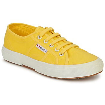 Shoes Women Low top trainers Superga 2750 CLASSIC Yellow