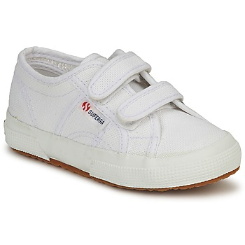 Shoes Children Low top trainers Superga 2750 STRAP White