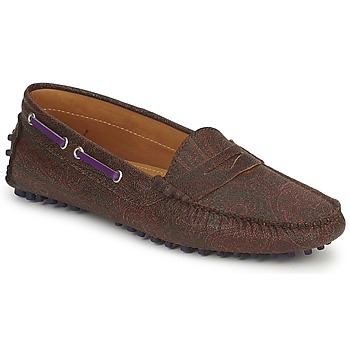 Shoes Women Loafers Etro MOCASSIN 3706 Violet