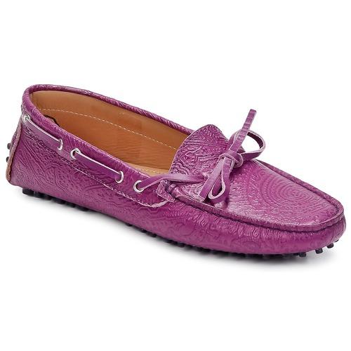Shoes Women Loafers Etro MOCASSIN 3773 Violet
