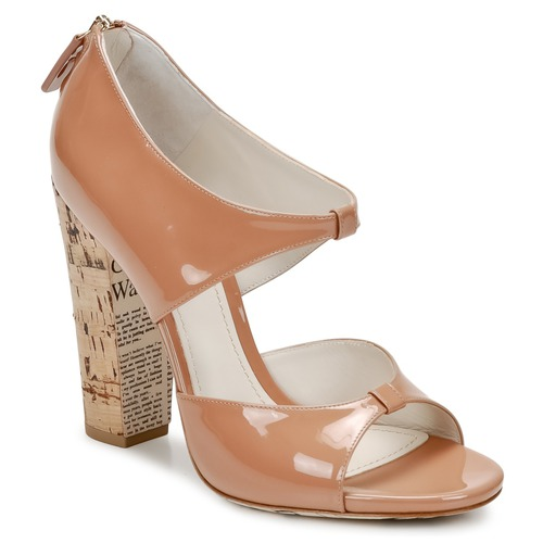 Shoes Women Sandals John Galliano AN6364 Pink / Beige
