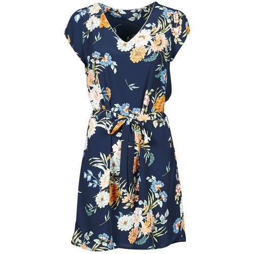 material Women Short Dresses Betty London OWAKA Marine / Multicolour