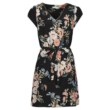 material Women Short Dresses Betty London OWAKA Black / Multicolour