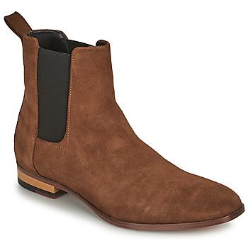 Shoes Men Mid boots HUGO CULT CHEB Cognac