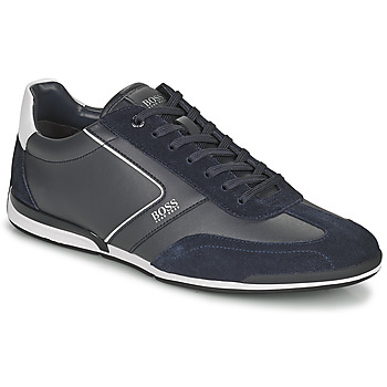 Shoes Men Low top trainers BOSS SATURN LOWP ITAL Marine