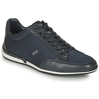 Shoes Men Low top trainers BOSS Saturn_Lowp_nyst Marine