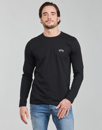 material Men Long sleeved shirts BOSS TOGN CURVED Black