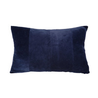 Home Cushions Present Time RIBBED Blue / Night