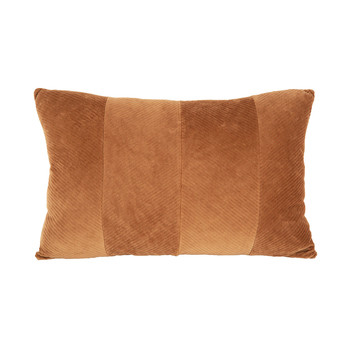 Home Cushions Present Time RIBBED Beige