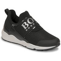 Shoes Boy Low top trainers BOSS FETINA Black