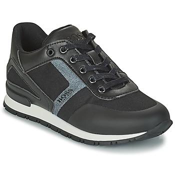 Shoes Boy Low top trainers BOSS FILEMONA Black