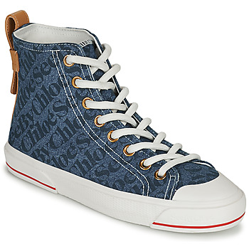 Shoes Women High top trainers See by Chloé ARYANA Blue