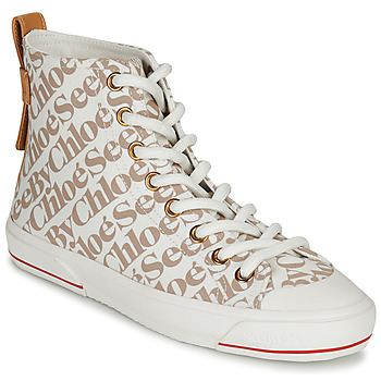 Shoes Women High top trainers See by Chloé ARYANA Beige