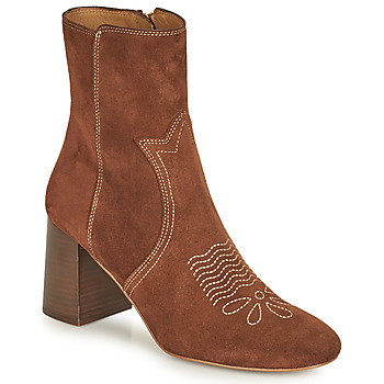Shoes Women Ankle boots See by Chloé LIZZI Brown