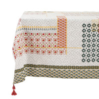 Home Tablecloth Jardin d'Ulysse BOHEME Grey