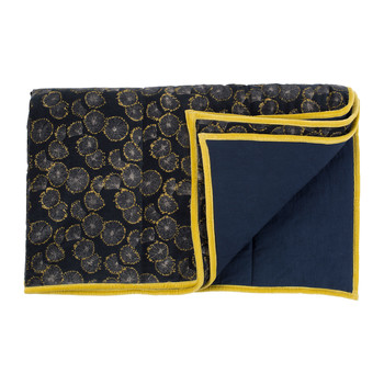 Home Blankets, throws Jardin d'Ulysse OWARI Blue / Marine
