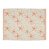 Home Tea towel Jardin d'Ulysse AQUA White