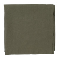 Home Tablecloth Côté Table BASIC Green / Kaki