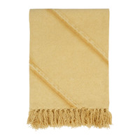Home Blankets, throws Côté Table JANDIANE Mustard