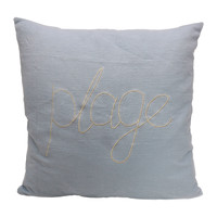 Home Cushions Côté Table MARE Blue / Sky