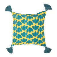 Home Cushions covers Sema FEUILLAGE Blue