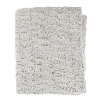 Home Blankets, throws Sema FIMBRIA Grey / Pearl