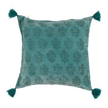 Home Cushions covers Sema BAYLEEN Blue / Emerald