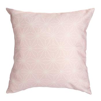 Home Cushions Sema Etoiles en pointillés Pink / Pastel