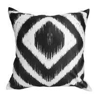 Home Cushions Sema Losanges Black