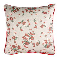 Home Cushions Comptoir de famille GROSEILLE White
