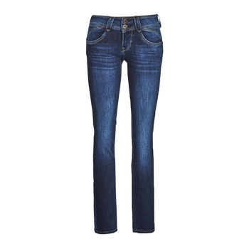 material Women straight jeans Pepe jeans NEW GEN Blue / Raw