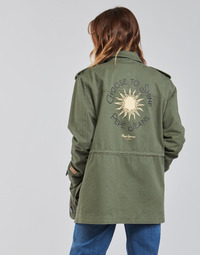 material Women Parkas Pepe jeans NELLY Green