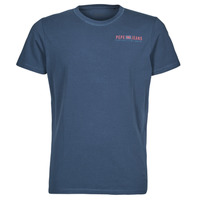 material Men short-sleeved t-shirts Pepe jeans RAMON Blue