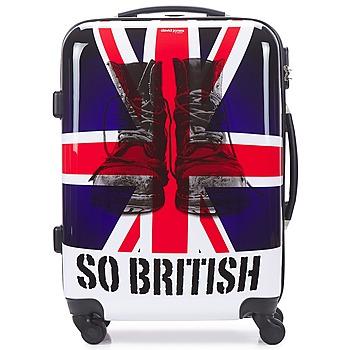 Bags Hard Suitcases David Jones UNION JACK 53L Multicoloured