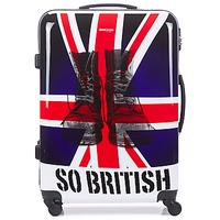 Hard Suitcases David Jones UNION JACK 83L