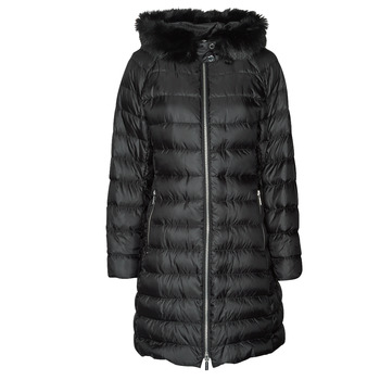 material Women Duffel coats MICHAEL Michael Kors ECO LONG PERFMNC PUFFER Black