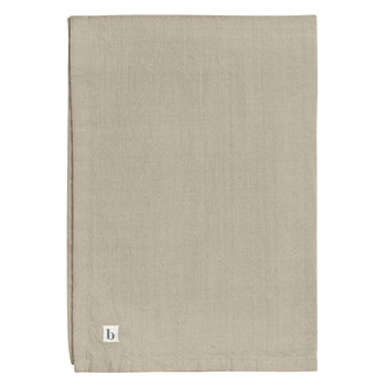 Home Tablecloth Broste Copenhagen WILLE Taupe