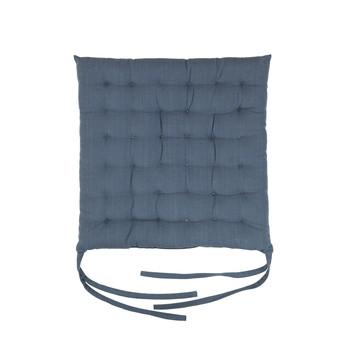 Home Chair cushion Broste Copenhagen AVA Blue / Mirage