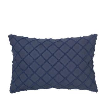 Home Cushions covers Broste Copenhagen MAGNE Blue / Night