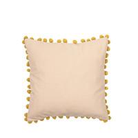 Home Cushions covers Broste Copenhagen POM Pink