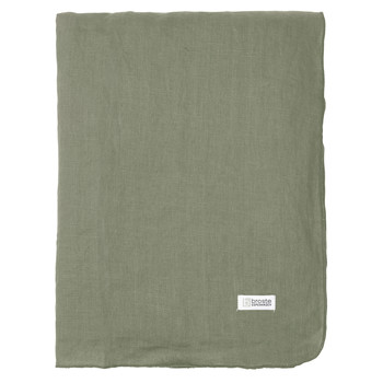 Home Tablecloth Broste Copenhagen GRACIE Green