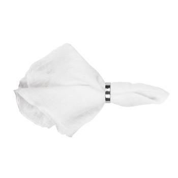 Home Napkin Broste Copenhagen GRACIE White