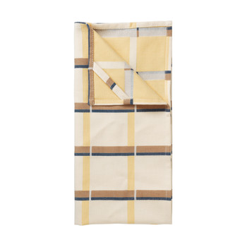 Home Tea towel Broste Copenhagen ZAPPA X2 Yellow / Banana