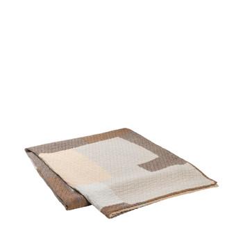 Home Blankets, throws Broste Copenhagen PATCH Beige