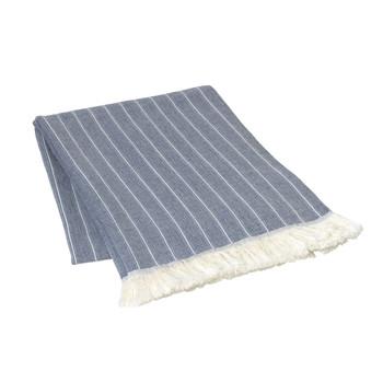 Home Blankets, throws Broste Copenhagen ASK Blue / Mirage