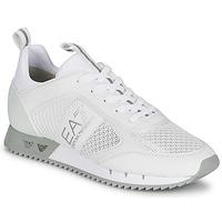 Shoes Low top trainers Emporio Armani EA7 BLACK&WHITE LACES White